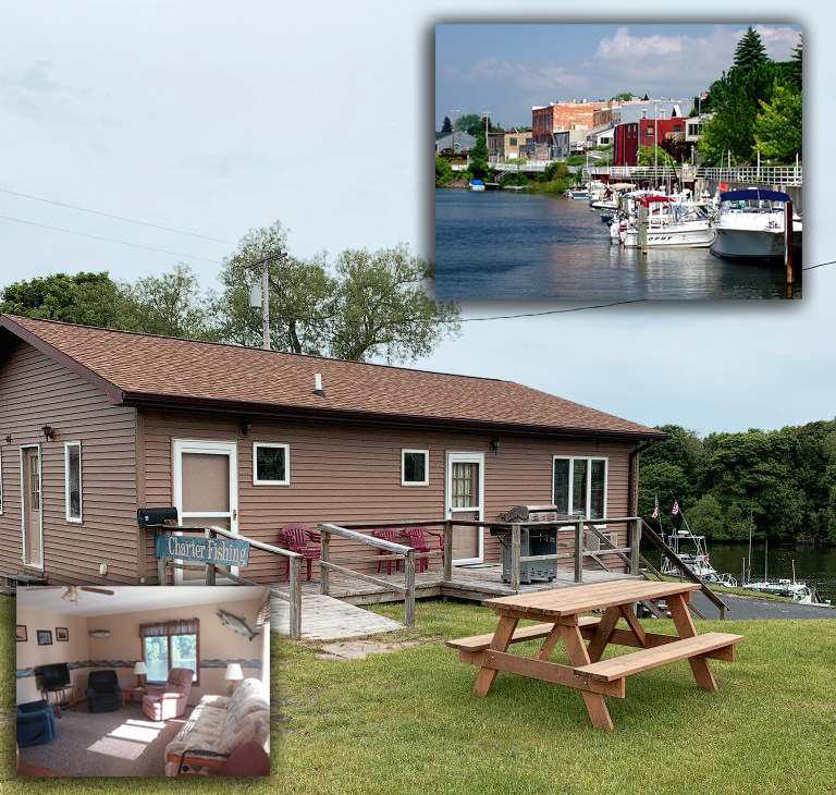 Stay on the Manistee River – Riverside Charters